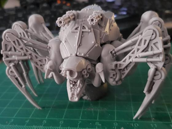 Necron Spinne