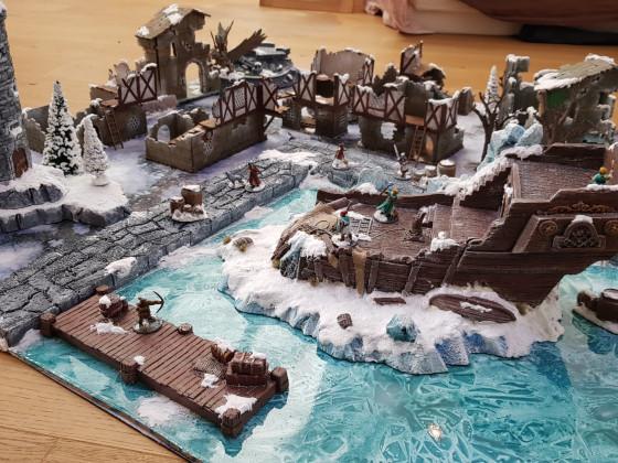 Frostgrave vereistes Hafenbecken