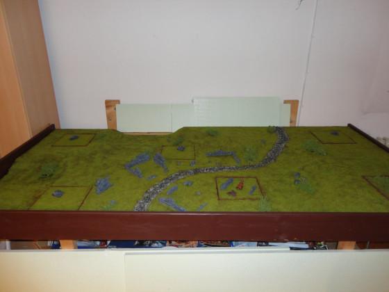 Haalis erstes Gelände: Module