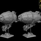 Der Ancestral Zeppelin von Titan Forge