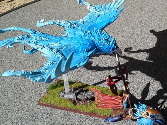Frostphönix mit Charaktermodell