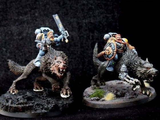 Thunderwolf Cavalry, Vlka Fenryka, IV. Legion